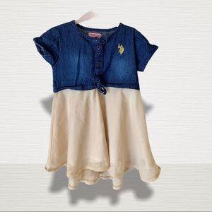 ☀️4/$30☀️ U.S. Polo Assn. Toddler dress